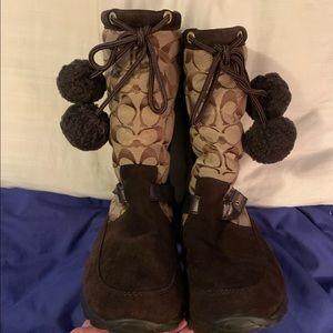 COACH Juniper Boots